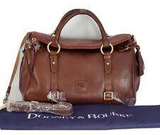 DOONEY & BOURKE NWOT $438 Chestnut Brown Leather 'Florentine' Medium Satchel
