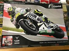 CAL CRUTCHLOW OFFICIAL LCR TEAM HONDA POSTER 2017