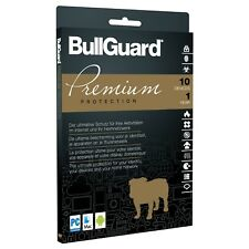 BullGuard Premium Protection 2018 [10 Geräte - 1 Jahr - Vollversion]