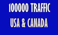 100 000 Real website Traffic  USA and CANADA  Free upto $250 Free google/ms ads