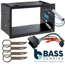 Stereo Double Din Fascia+Wiring Kit Fits VW Transporter T5 Pre Facelift 03-06