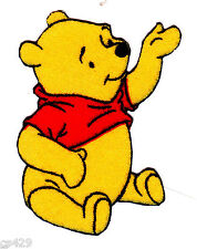 """2.5"""" Disney pooh reaching fabric applique iron on character"""