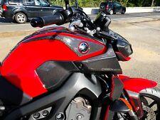 Fits Yamaha FZ09  MT09 real carbon fiber Tank sides protector pad sliders KIT
