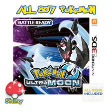 Pokemon Ultra Moon Unlocked All 807 Shiny Battle Ready Nintendo 3DS Pokemon Home