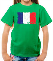 France Flag Kids T-Shirt - French - Flags - Country - Francais - Paris