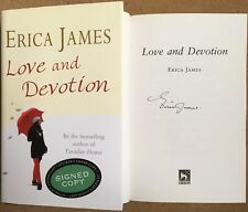 Love and Devotion by Erica James Signed First Edition