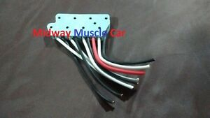 power window switch repair connector pigtail lead wires  Chevelle Camaro GTO 442