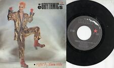 EURYTHMICS disco 45 giri MADE in ITALY  1983 Right by your side PARTY MIX