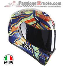 Casco Agv Integrale K3 SV Replica Valentino Rossi Five Continents XL Pinlock