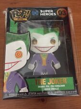FUNKO POP PIN THE JOKER #03 DC COMICS JUMBO LOUNGEFLY PIN