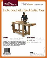 FINE WOODWORKING ROUBO BENCH WITH BENCHCRAFTED VISES - MILLER, JEFF - NEW BOOK