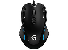 Logitech G300S Gaming Mouse WITH 9 PROGRAMMABLE CONTROLS