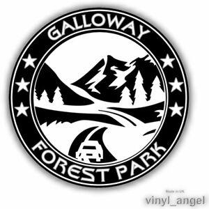 2x GALLOWAY FOREST PARK Car Vinyl Sticker - WATERPROOF #2362