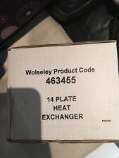 WOLSELEY 14 PLATE HEAT EXCHANGER 463455 BNIB