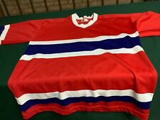 Vintage GCK Montreal Canadiens 1980's Jersey Blank