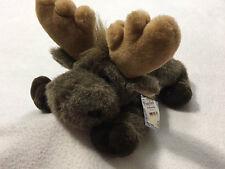 NWT Aurora Flopsies Mel The Moose Plush Stuffed Animal Floppy Toy 06246 Vtg