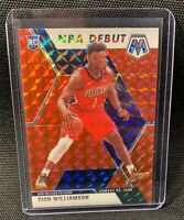 Zion Williamson 2019-20 Panini Mosaic NBA DEBUT RED MOSAIC HOBBY PSA?! RC🔥