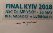 PARCHE FINAL CHAMPIONS 2018 KYEV  REAL MADRID - LIVERPOOL