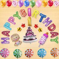 """13Pcs 16'' """"HAPPY BIRTHDAY"""" Briefe Luftballons Für Geburtstag Party Dekoration"""