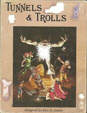 tunnels and trolls gamebook 5th edition 5e RPG role playing Game module Blade