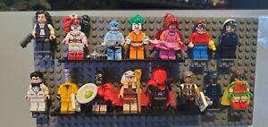 LEGO BATMAN MOVIE MINIFIGURES SERIES Lot Of 15! l@@k!!