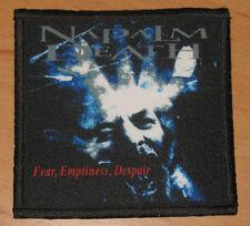 "Napalm Death ""Fear, Emptiness, Despair"" silk screen Patch"