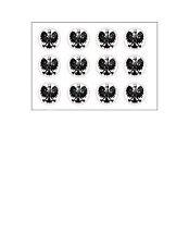 Poland Polish Royal Eagle Family Reunion Kingdom Crest Heraldry Rubber Stamp Box