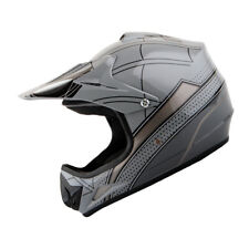 New DOT Youth Kids Motocross Motorcross MX BMX Bike Helmet Spider Black S M L