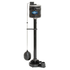 Pedestal Sump Pump Non Submersible Cast Iron Vertical Solid Steel Shaft