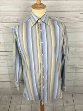 Men's Ben Sherman Shirt - Size 15.5 - Slim Fit - Striped - Great Condition