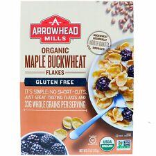 Arrowhead Mills, Organic Maple Buckwheat Flakes, Gluten Free, 10 oz