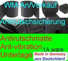 Antirutschmatte , Regupol, Antivibrationsmatte, unterlage 4 x 8mm  1200mm  100mm