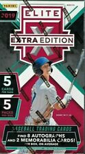 2019 Panini Elite Extra Edition Baseball Hobby Box Free Shipping Volume Discount