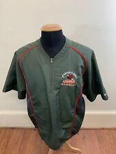 Nike Gwynedd Mercy University Baseball Quarter Zip Jacket Shirt Mens Medium -
