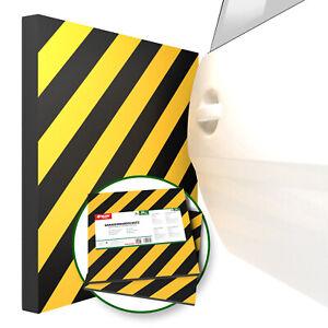 ATHLON TOOLS 2x XXL Garagen-Wandschutz mit Reflektor   je 50 x 50 cm