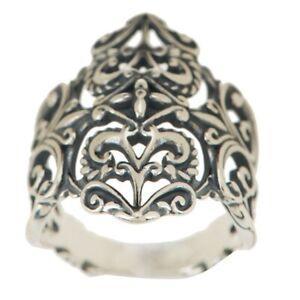 QVC Carolyn Pollack Sterling Silver Heart Ring