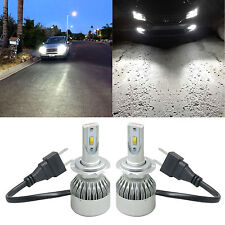LED H7 Headlight 2 Bulbs High/Low beam Conversion Kit fits Mercedes Benz CLK SLK