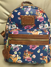 Loungefly Disney Bambi & Thumper Floral Allover Print Mini Backpack NWT-2 💥💥💥