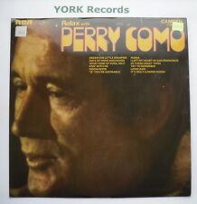 PERRY COMO - Relax With Perry Como - Excellent Con LP Record RCA Camden CDS 1123