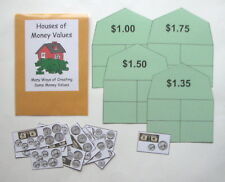 Teacher Made Math Center Resource Game Creating Same Money Values Bills & Coins