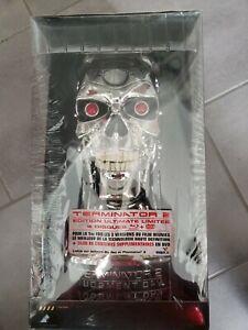 COFFRET tête buste ,TERMINATOR 2 neuf avec blu ray DVD Edition Ultimate limitée