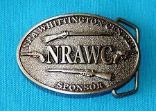 NRA WHITTINGTON CENTER BELT BUCKLE ,  NRAWC SPONSOR