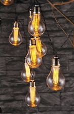 30414 LED Lichterkette mit 10 LED Glühbirnen Partylichterkette