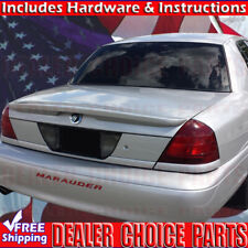 1998-2011 Ford Crown Victoria Grand Marquis Lip Factory Style Spoiler UNPAINTED