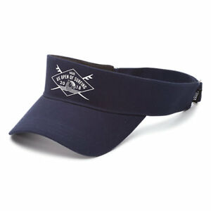 Vans - US OPEN of SURFING Visor (NEW) Navy Blue Hat Cap  2018 VUSO Free Shipping