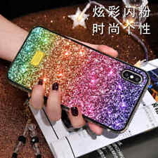 Bling Glitter Sparkly Crystal Slim Phone Case Cover For Apple iPhone Xs Max Xr 8
