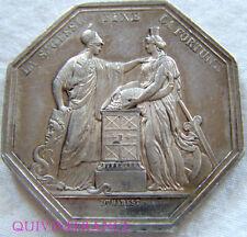 MED4238 - JETON BANQUE DE FRANCE AN VIII  (1860-1879)