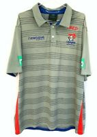 ISC Official Licensed Newcastle Knights Grey Polo Shirt Size XL