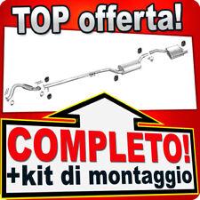 Scarico Completo FORD FOCUS MK1 2.0 16V 2-Volumi Marmitta +Tubo D26