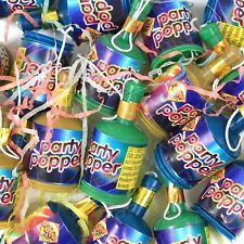 New Years Parties Birthdays Party Poppers Pack Of 40 Multi Coloured Fun